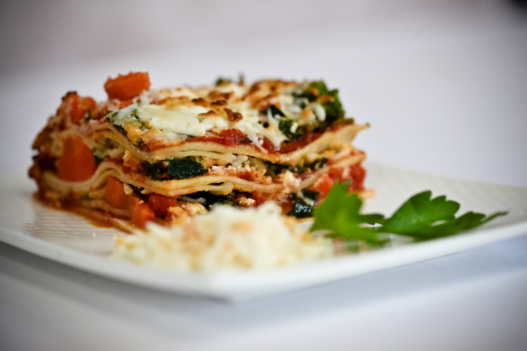 Five Cheese Vegetable Lasagna » Capo